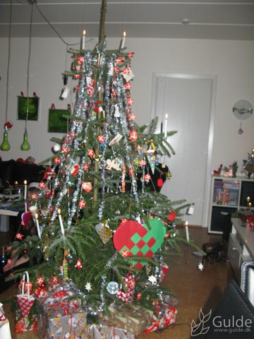 Sidste års juletræ