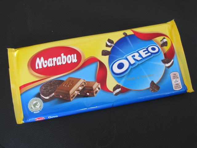 Ny Marabou chokoladebar med Oreos
