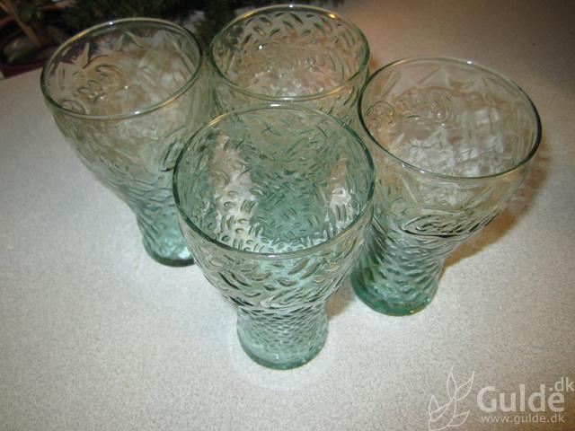 Grønne McD Coca Cola glas