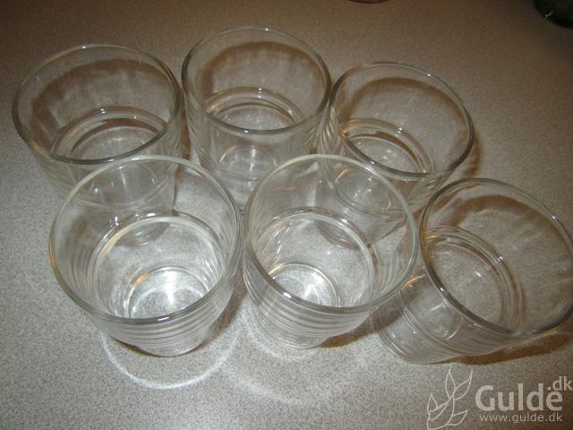 Små Ikea glas