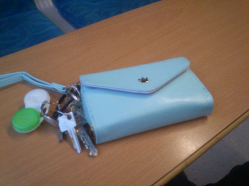 Min mobil-case rummelig damepung nøglebundt i én løsning