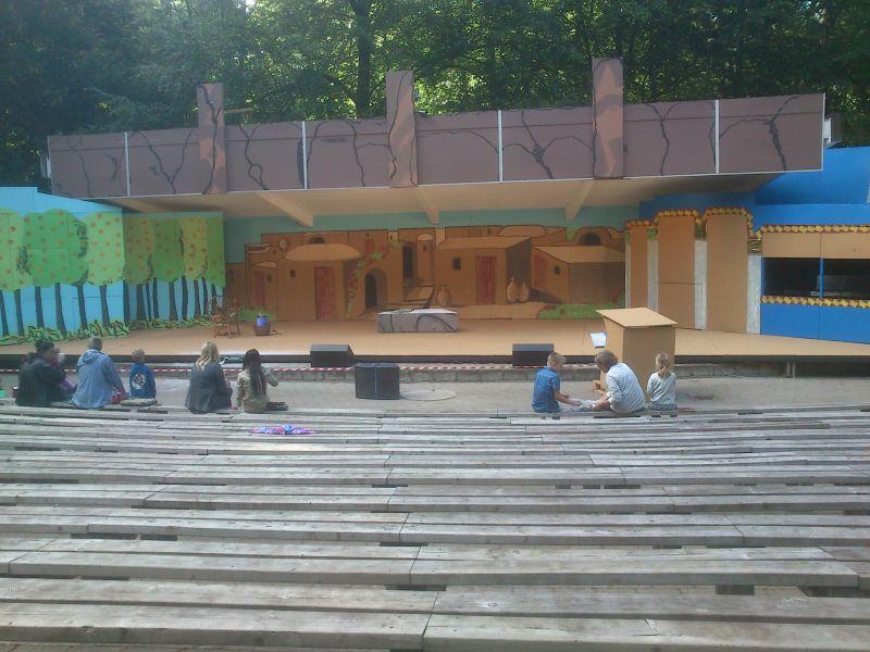 Teatret klar til Aladdin