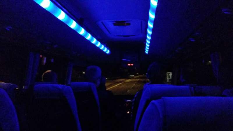 Bus invendig