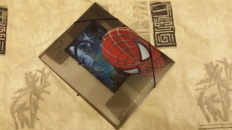 Spiderman elastikmappe fra kirkekor