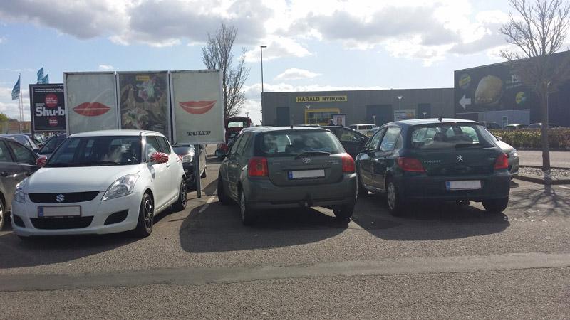 Hvordan var det lige denne (norske?) gut var parkeret?