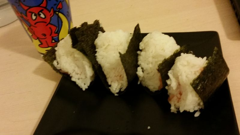 I Made Sushi and onigeri