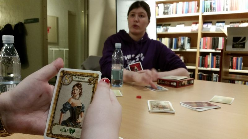 Library Board Games Night