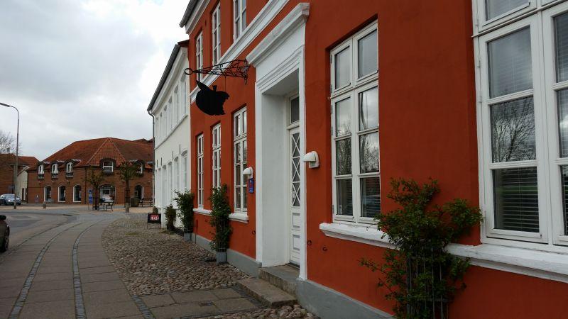 Denne tandlæge i Tønder må bestemt bi-jobbe med salg af moderigtig elektronik tongue-humørikon