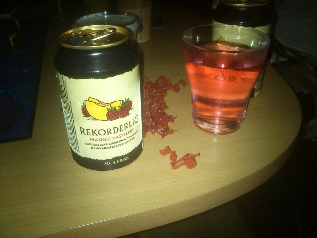Recordelig Mango-Rasberry (som btw er pink! Bonus!)