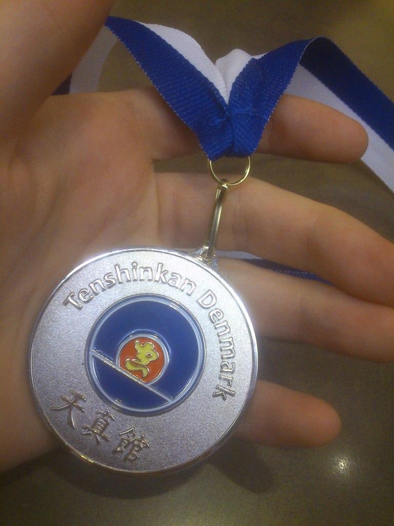 Sølv til Tenshinkan Cup 2012