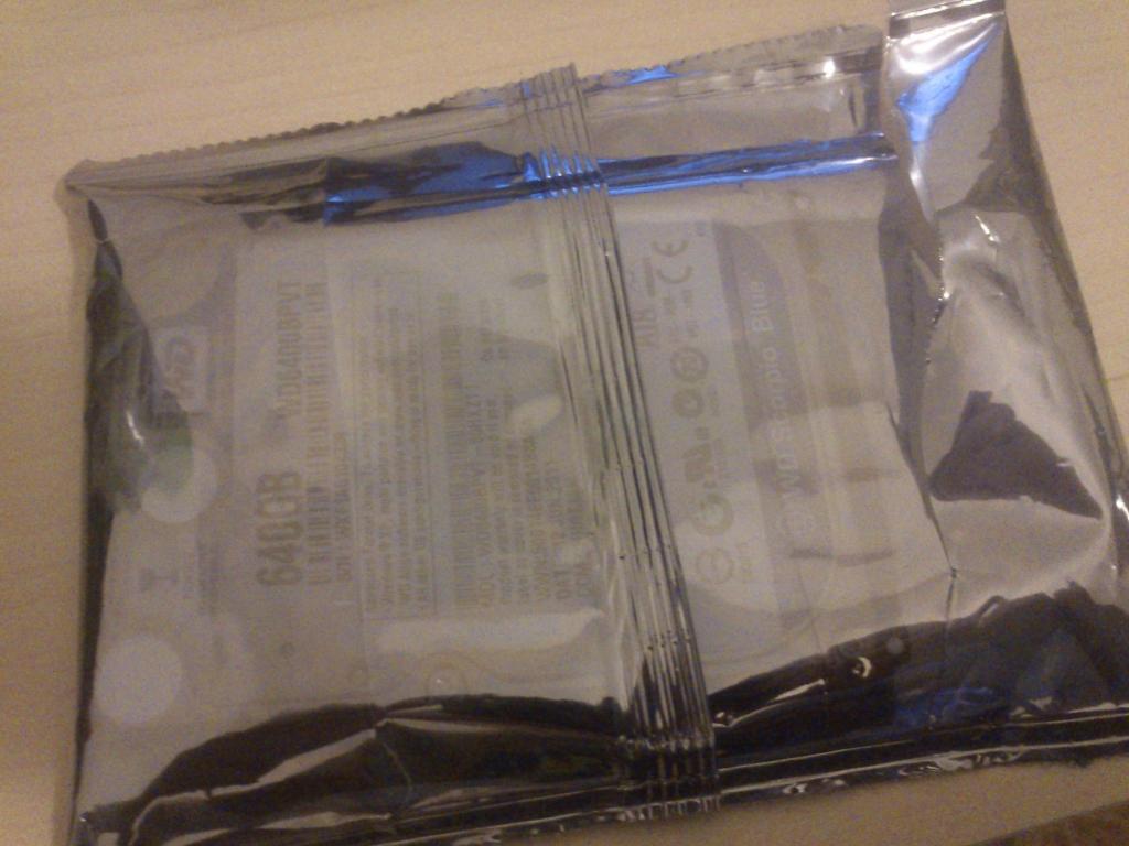 Resterne af min gamle harddisk fik jeg dog med...