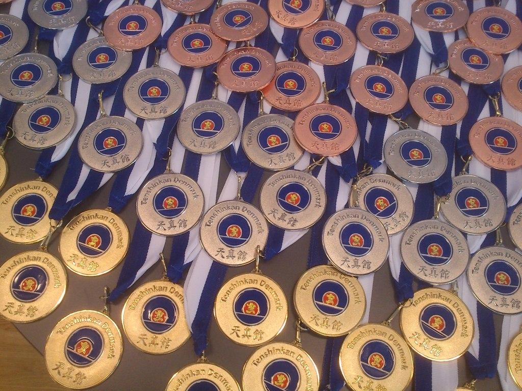 Tenshinkan medaljerne