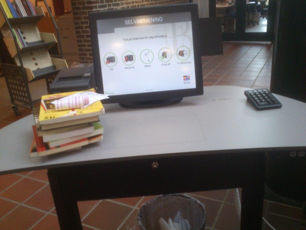 Biblioteket bliver hightech