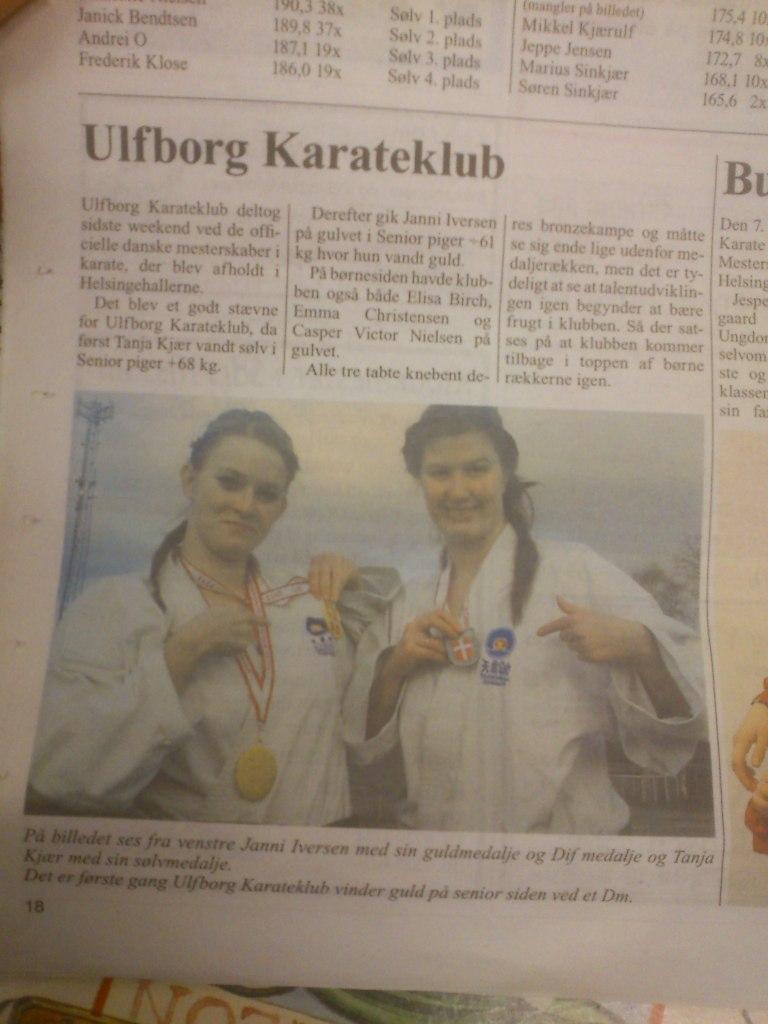 I avisen med Tanja
