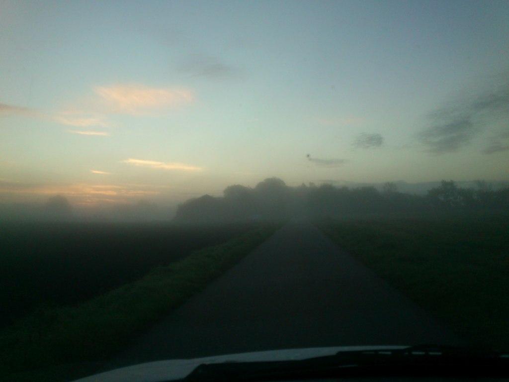 Morgenhumøret er tåget