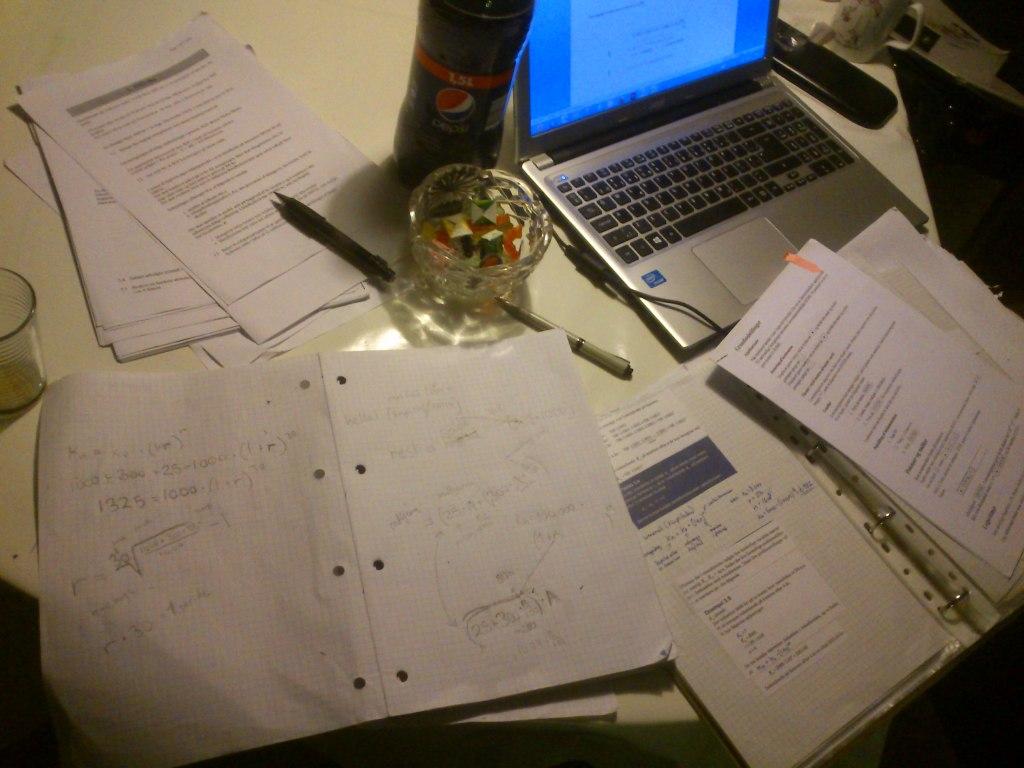 Det er længe siden jeg har haft med den slags lektier og brug af matematisk viden at gøre...