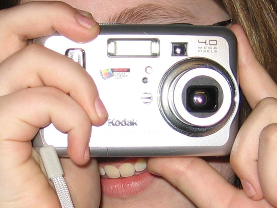 Klap lige kameraet!