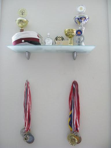Lejlighedsprojekt #1 - Pokalhylde & medaljevæg
