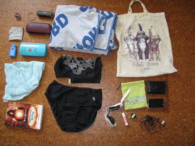 I Gulde's strandtaske