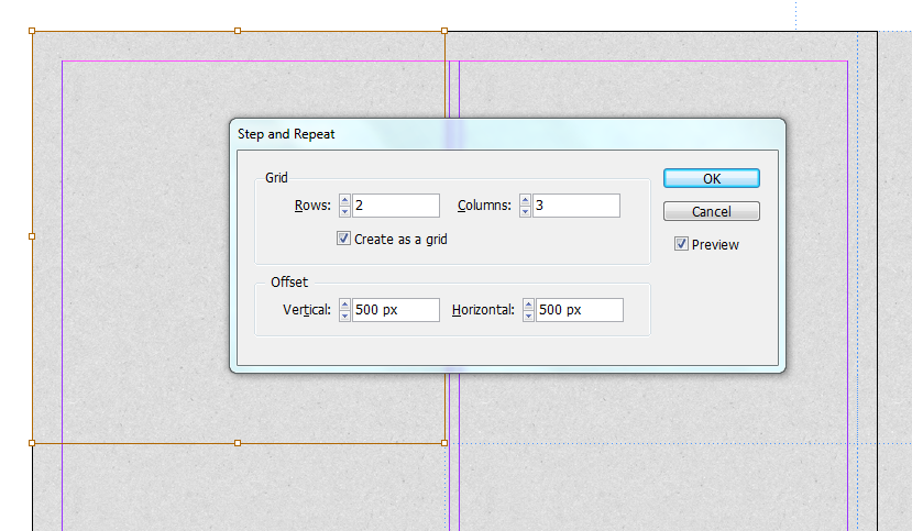 Tile/repeate image in inDesign