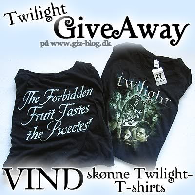 Twilight GiveAway på GizBlog