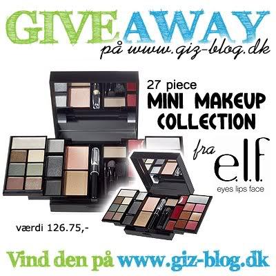 Makeup GiveAway på GizBlog