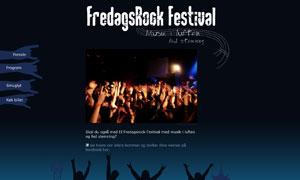 Fredagsrock Microsite
