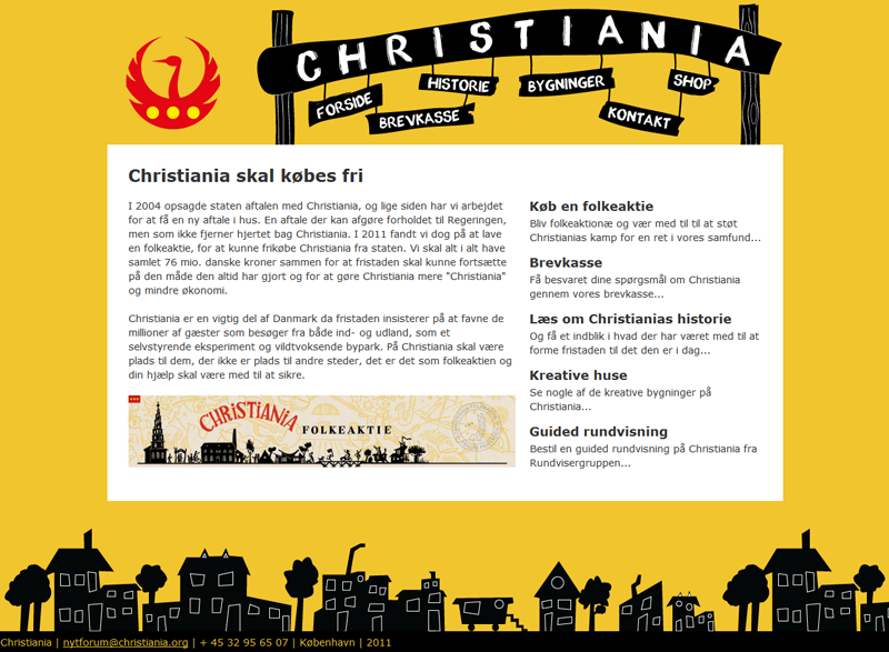 Christiania redesign