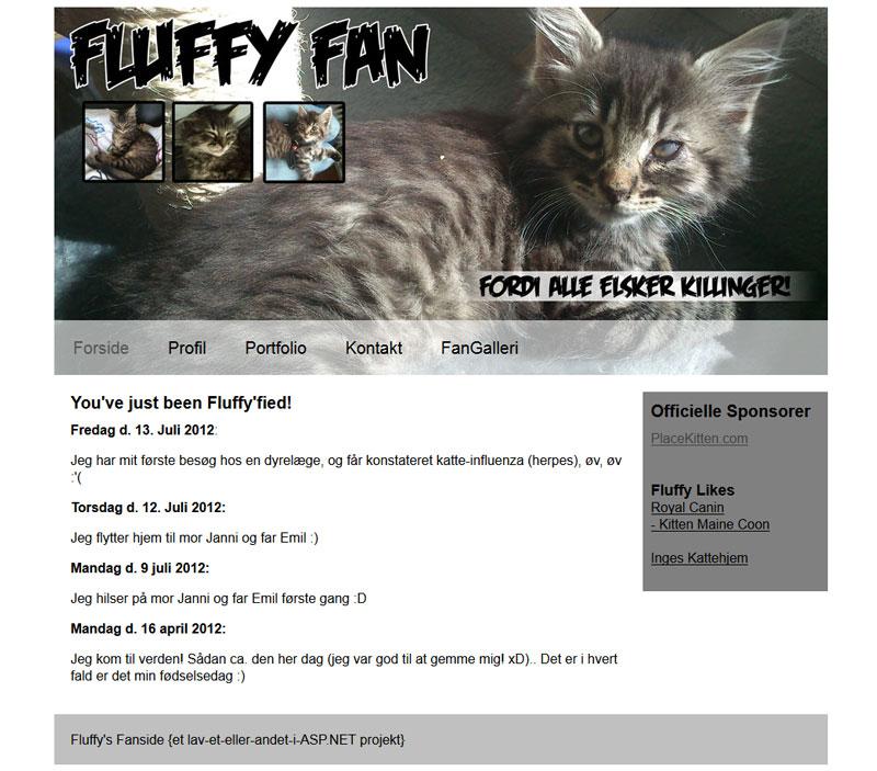 Fanside ala Fluffy